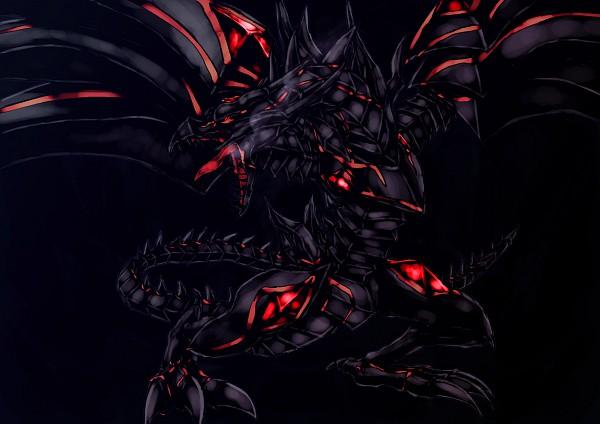 Tags: Anime, Yu-Gi-Oh!, Red Eyes Darkness Dragon, Fanart