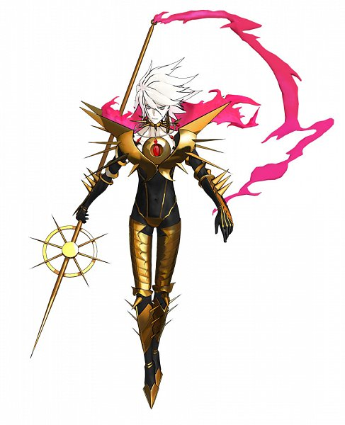 Tags: Anime, Fate/Grand Order Arcade, Fate/Grand Order, Red Lancer, Vasavi Shakti, Official Art