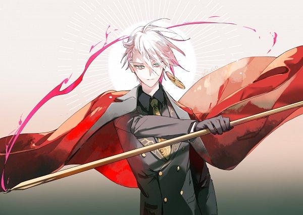 Tags: Anime, Pixiv Id 4118627, Fate/Grand Order, Red Lancer, Vasavi Shakti, Sun (Symbol), Fanart From Pixiv, Pixiv, Fanart