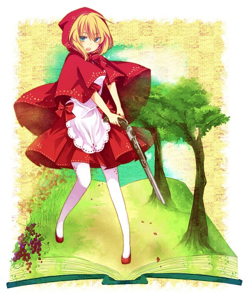 Tags: Anime, Aruya, Red Riding Hood, Red Riding Hood (Character), Pixiv