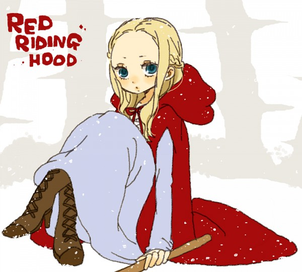 Tags: Anime, yukke, Red Riding Hood, Red Riding Hood (Character), PNG Conversion, Pixiv