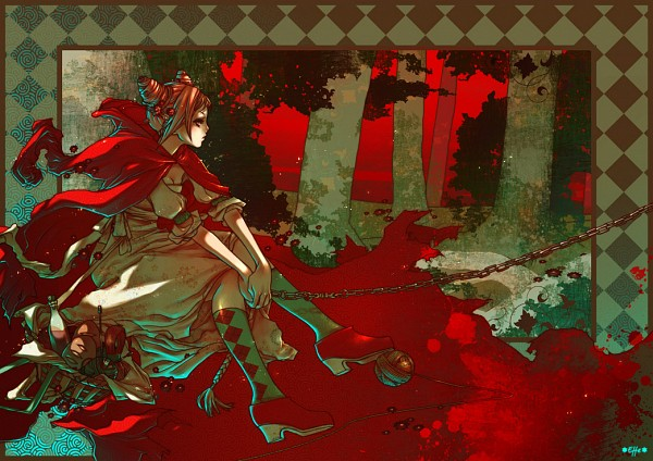 Tags: Anime, Fabio-Barboni, Red Riding Hood, Red Riding Hood (Character), deviantART, Fanart
