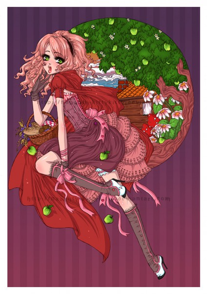 Tags: Anime, Red Riding Hood, Red Riding Hood (Character), deviantART, Original