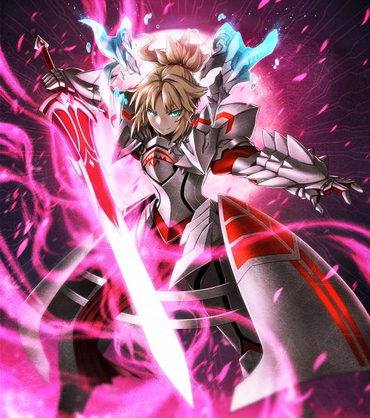 Tags: Anime, Pixiv Id 74514, Fate/Grand Order, Red Saber, Clarent, Fanart From Pixiv, Pixiv, Fanart, Revision