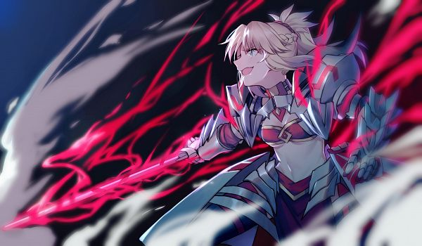 Tags: Anime, Yorukun, Fate/Grand Order, Red Saber, Clarent