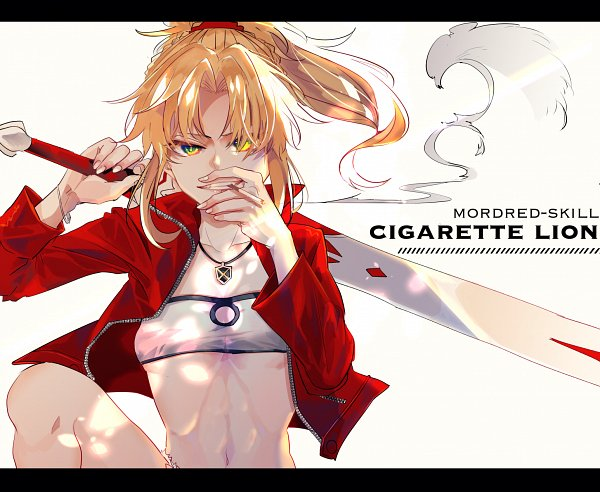 Tags: Anime, Pixiv Id 1199288, Fate/Apocrypha, Red Saber, Clarent