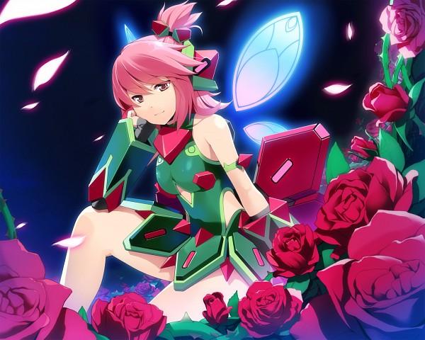 Tags: Anime, Wakaba  (Pixiv113222), Cyberstep, Cosmic Break, Regina Winberrl, Winberrl, Official Art, Official Wallpaper, Wallpaper