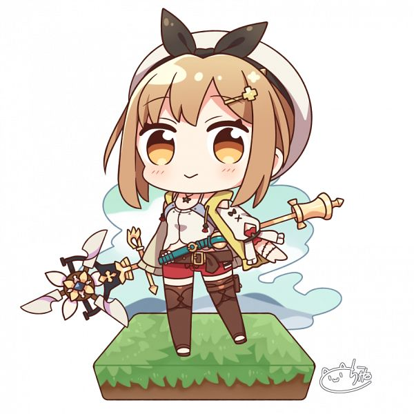 Tags: Anime, Pixiv Id 2650379, Atelier Ryza, Reisalin Stout