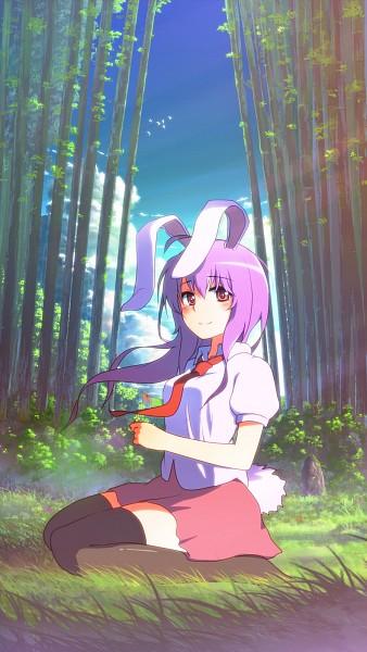 Tags: Anime, Pixiv Id 714897, Touhou, Reisen Udongein Inaba, Model, Mobile Wallpaper, Fanart