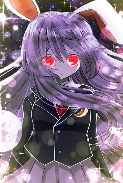 Tags: Anime, Pixiv Id 17891609, Touhou, Reisen Udongein Inaba, Blank Stare, Pixiv, Mobile Wallpaper, Fanart, Fanart From Pixiv