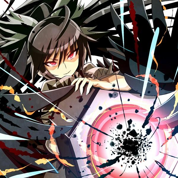 Tags: Anime, Gibuchoko, Touhou, Reiuji Utsuho, Arm Cannon, Cannon, Fanart, Pixiv, Utsuho Reiuji