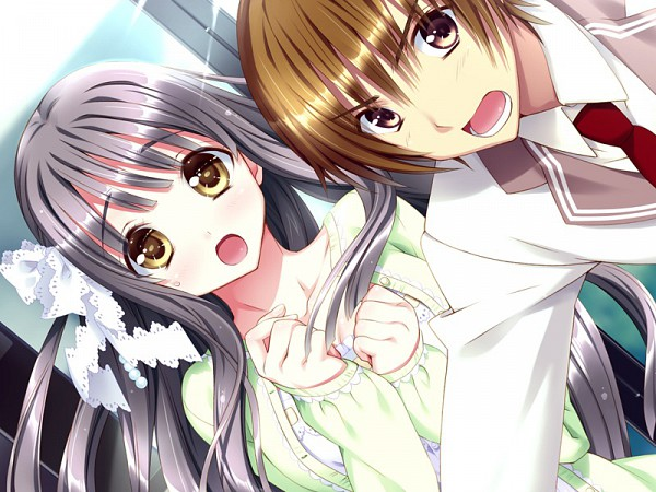 Tags: Anime, Kamiya Maneki, Relations. Sister X Sister, Akagi Kouhei (Relations.), Akagi Chisato, CG Art