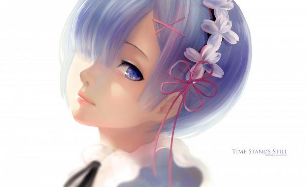 Tags: Anime, Pixiv Id 17090524, Re:Zero Kara Hajimeru Isekai Seikatsu, Rem (Re:Zero), Wallpaper
