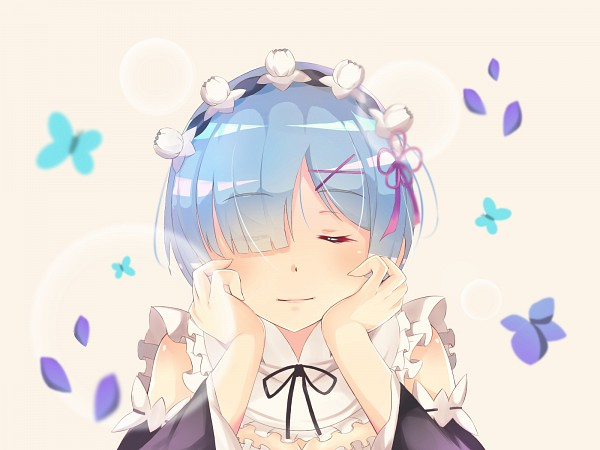 Tags: Anime, Sylux, Re:Zero Kara Hajimeru Isekai Seikatsu, Rem (Re:Zero), Fanart From Pixiv, Self Made, Pixiv, Fanart