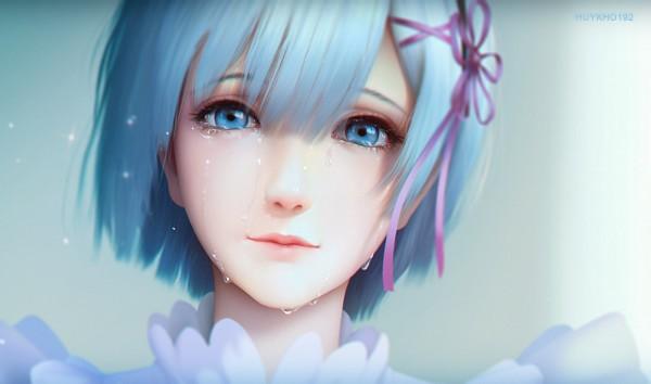 Tags: Anime, Huy Khờ, Re:Zero Kara Hajimeru Isekai Seikatsu, Rem (Re:Zero), Depth Of Field, Wallpaper, Fanart, Fanart From Pixiv, Pixiv