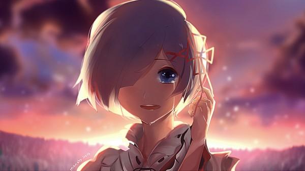 Tags: Anime, Pixiv Id 14753677, Re:Zero Kara Hajimeru Isekai Seikatsu, Rem (Re:Zero), Wallpaper, Fanart, Fanart From Pixiv, HD Wallpaper, Pixiv