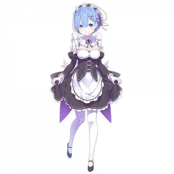 Tags: Anime, Ootsuka Shinichirou, Re:Zero Kara Hajimeru Isekai Seikatsu, Rem (Re:Zero), Official Art