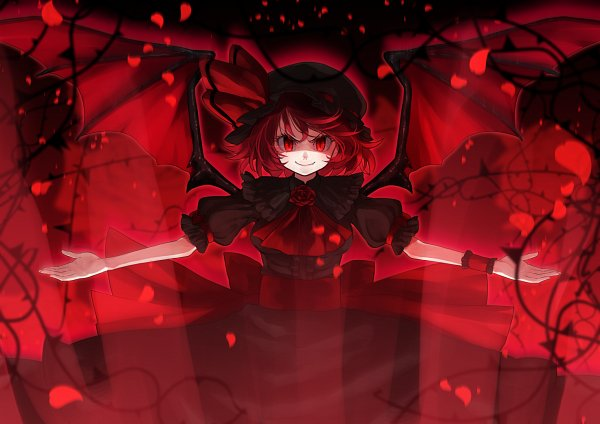 Tags: Anime, rion (glayjirobass), Touhou, MUGEN, Remilia Scarlet, Fanart From Pixiv, Fanart, Pixiv
