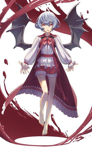 Tags: Anime, Pixiv Id 35279138, Touhou, Remilia Scarlet, Toenail Clippers, Fanart, Fanart From Pixiv, Pixiv