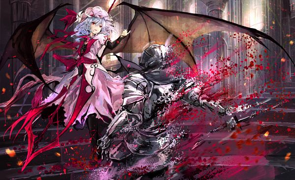 Tags: Anime, Pixiv Id 1555970, Touhou, Remilia Scarlet, Fanart, Fanart From Pixiv, Pixiv