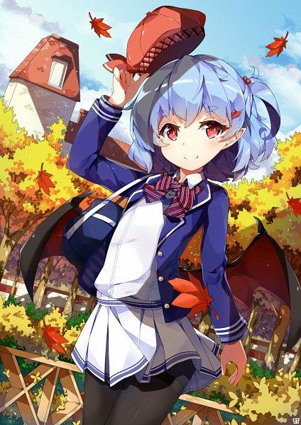 Tags: Anime, DanGo (Pixiv Id 7703737), Touhou, Remilia Scarlet, Fanart From Pixiv, Pixiv, Fanart