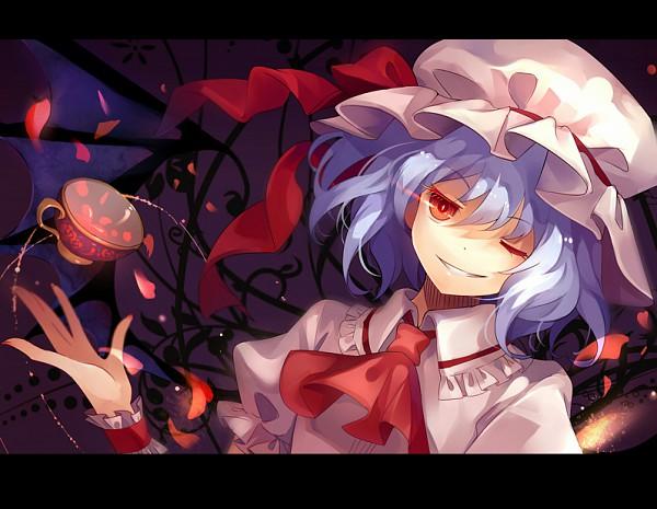 Tags: Anime, Dhiea (Pixiv270545), Touhou, Remilia Scarlet, Pixiv