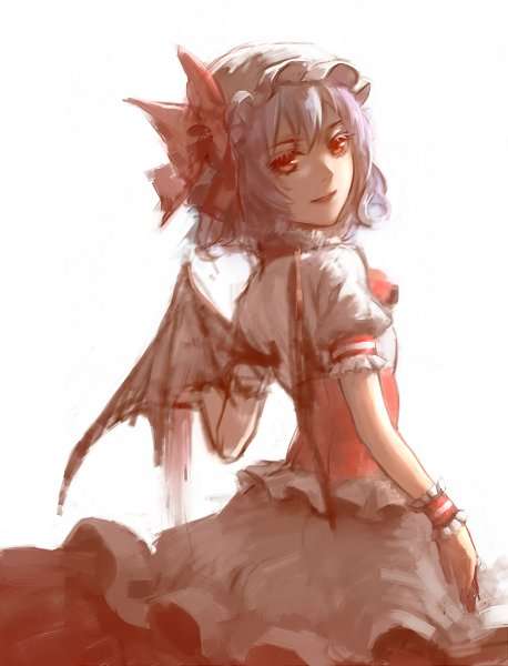 Tags: Anime, Pixiv Id 2768205, Touhou, Remilia Scarlet, Pixiv, Fanart, Fanart From Pixiv