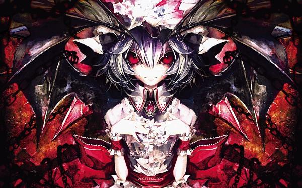 Tags: Anime, Banpai Akira, ALiCE'S EMOTiON, Touhou, Remilia Scarlet, SCARLET EYES, Pixiv, Wallpaper