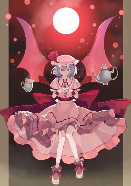 Tags: Anime, Shihou (g-o-s), Touhou, Remilia Scarlet, Red Moon