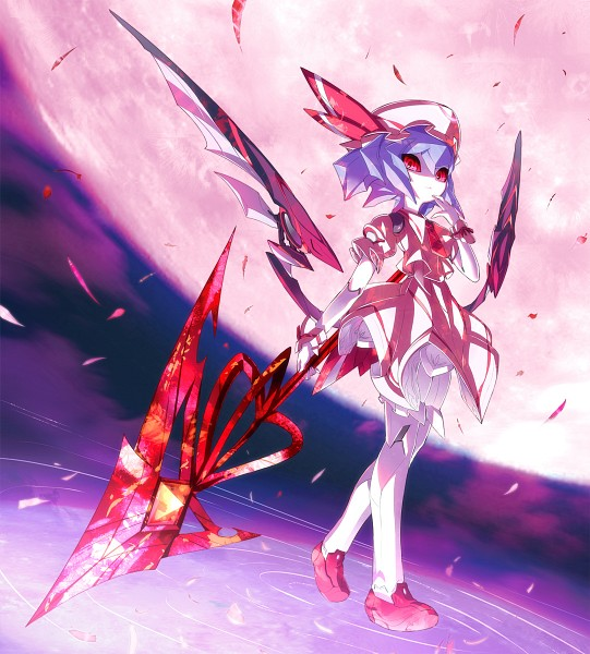 Tags: Anime, Star (Ikaruga), Touhou, Remilia Scarlet, Spear the Gungnir, Mechanization, Fanart, Pixiv
