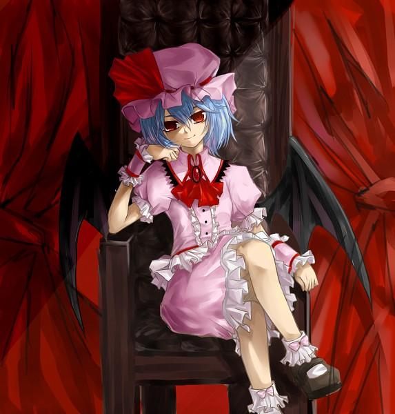 Tags: Anime, Pixiv Id 2296884, Touhou, Remilia Scarlet, Fanart
