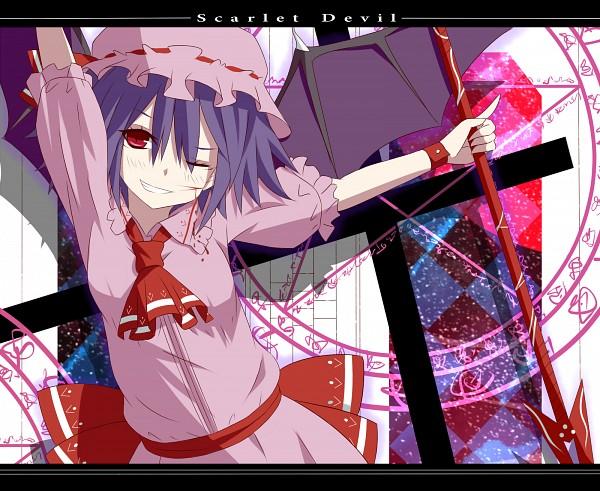 Tags: Anime, Do-tan, Touhou, Remilia Scarlet, Spear the Gungnir, Pixiv, Fanart