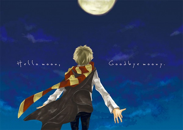 Tags: Anime, Pixiv Id 3413174, Harry Potter, Remus Lupin, Face Up, Fanart, Pixiv, Gryffindor House