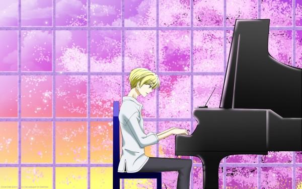 Tags: Anime, Ouran High School Host Club, René Tamaki Richard de Grantaine, Playing, 1680x1050 Wallpaper, Wallpaper