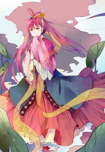 Tags: Anime, Pixiv Id 2184522, MAGI: The Labyrinth of Magic, Ren Kougyoku, Mobile Wallpaper, PNG Conversion, Pixiv, Fanart, Fanart From Pixiv