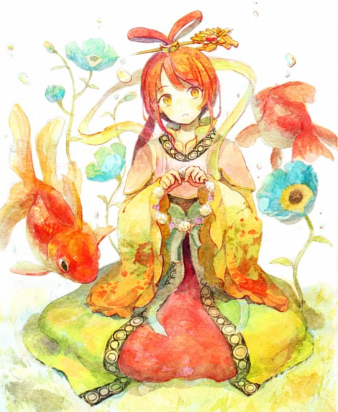 Tags: Anime, Pixiv Id 1779580, MAGI: The Labyrinth of Magic, Ren Kougyoku, Pixiv, Fanart, Fanart From Pixiv, Watercolor, Traditional Media