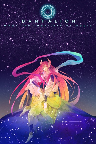 Tags: Anime, Pixiv Id 6833202, MAGI: The Labyrinth of Magic, Ren Koumei, Djinn Equip, Pixiv, Fanart, Mobile Wallpaper, Fanart From Pixiv