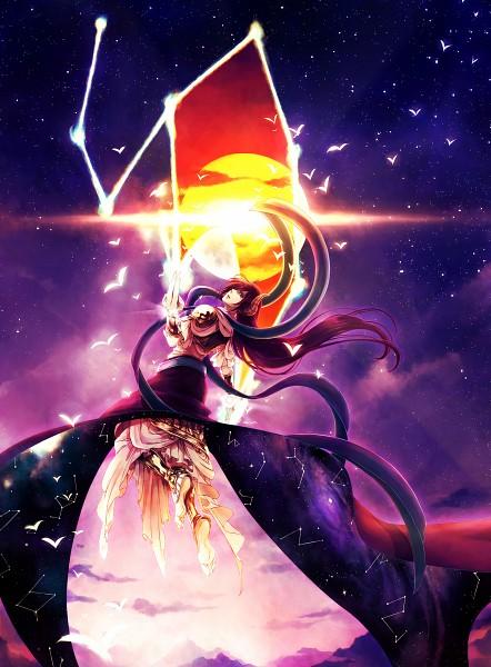 Tags: Anime, Catmaylookatking, MAGI: The Labyrinth of Magic, Ren Koumei, Djinn Equip, Rukh, Fanart, Fanart From Pixiv, Pixiv