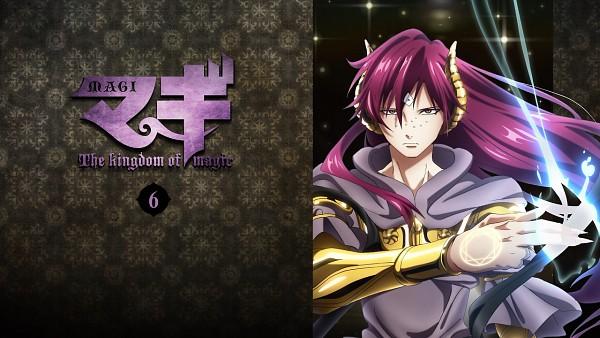 Tags: Anime, A-1 Pictures, MAGI: The Labyrinth of Magic, Ren Koumei, Djinn Equip, Wallpaper, Facebook Cover, Official Art, DVD (Source)