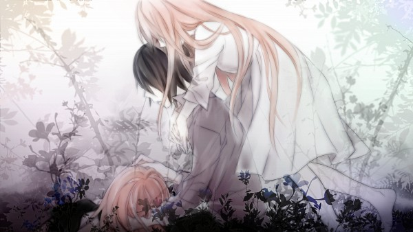 Tags: Anime, Pixiv Id 1801382, VOCALOID, Megurine Luka, Yuyoyuppe, Reon, Facebook Cover, Wallpaper