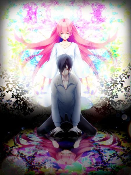 Tags: Anime, Kumogai, VOCALOID, Fan Character, Megurine Luka, Leia, Fanart, Reon, Pixiv, Fanart From Pixiv, PNG Conversion