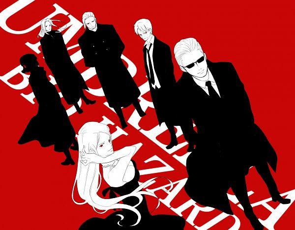 Tags: Anime, Pixiv Id 3848883, Resident Evil, William Birkin, Hunk, Alexia Ashford, Dr. James Marcus, Sergei Vladimir, Albert Wesker, Pixiv, Biohazard