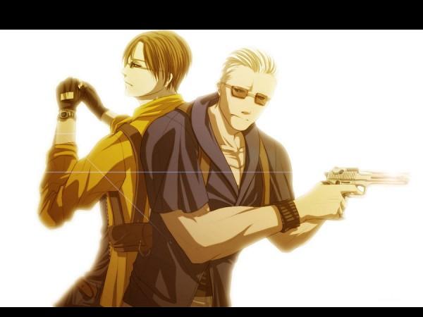 Tags: Anime, Sm-exery, Resident Evil, Jack Krauser, Leon Scott Kennedy, deviantART, Biohazard