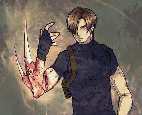 Tags: Anime, Pixiv Id 918376, Resident Evil, Jack Krauser, Leon Scott Kennedy, Pixiv, Biohazard