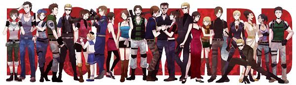 Tags: Anime, Sudachips, Resident Evil, Sherry Birkin, William Birkin, Billy Coen, Albert Wesker, Excella Gionne, Alice (BIOHAZARD), Claire Redfield, Ashley Graham, Hunk, Ada Wong, Biohazard