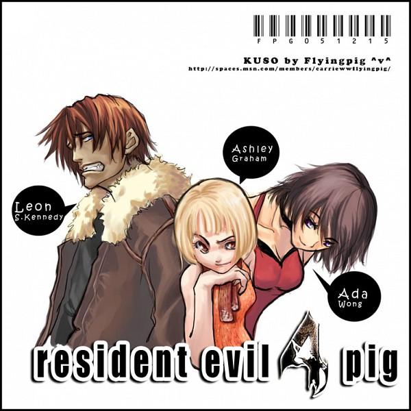 Tags: Anime, Resident Evil, Resident Evil 4, Ada Wong, Ashley Graham, Leon Scott Kennedy, Biohazard