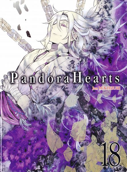 Tags: Anime, Mochizuki Jun, Pandora Hearts, Revis Baskerville, Official Art, Scan