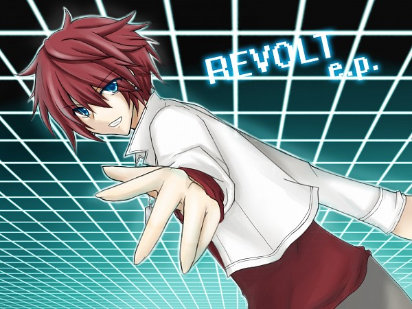 Tags: Anime, Pixiv Id 1297914, Valshe, Revolt E.P., Nico Nico Singer, Pixiv, Fanart