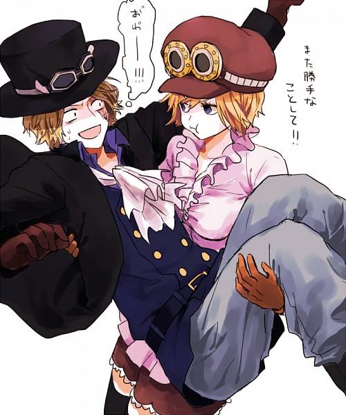 Tags: Anime, Pixiv Id 890482, ONE PIECE, Koala (ONE PIECE), Sabo, Fanart, Fanart From Pixiv, Pixiv, SaLa (Pairing), Revolutionary Army (One Piece)