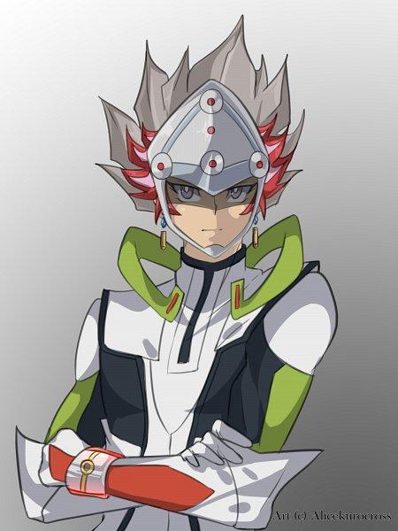 Tags: Anime, AliceKuroCross, Yu-Gi-Oh! VRAINS, Yu-Gi-Oh!, Revolver (Yu-Gi-Oh! VRAINS), Kougami Ryouken, Knights of Hanoi Uniform, Fanart